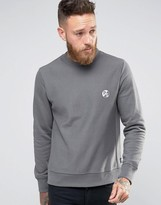 Ps By Paul Smith Paul Smith Sweatshirt With Ps Logo In Regular Fit Grey