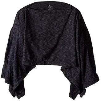 Nike Convertible Wrap 2.0 (Black Heather/Cool Grey) Scarves