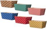 Bed Bath & Beyond Oven-Safe Paper 4.5-Inch Rectangular Loaf Pans (Set of 6)