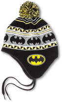 Batman Festive Pom-Pom Shoelace Knit Cap