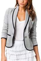 Emoyi Womens Casual Work Office Blazer Jacket Suit Outwear (L, )