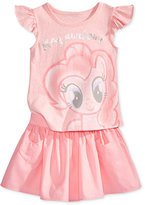 My Little Pony 2-Pc. Top & Skirt Set, Toddler & Little Girls (2T-6X)