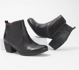 Comfortiva Suede Block Heel Ankle Boots - Arnon