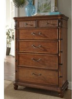 Panama Jack Isle of Palms 5 Drawer Chest Home Color: Brown
