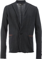 Kolor contrast pocket detail blazer