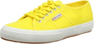 Superga Unisex Adults 2750 Cotu Classic Trainers Low-Top Yellow (Sunflower 176) 3 UK (35.5 EU)