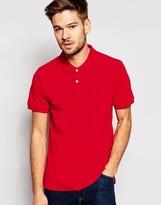 Esprit Slim Fit Short Sleeve Pique Polo Shirt
