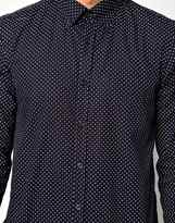 Peter Werth Shirt With Polka Dot Print