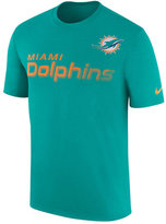 Nike Men's Miami Dolphins Legend Sideline Team T-Shirt