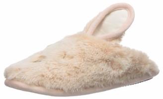 Dearfoams Women's Fluffly Critter Scuff Slipper