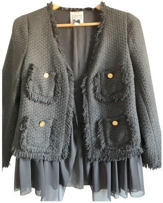 Edward Achour Black Tweed Jacket for Women