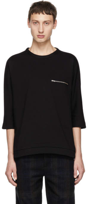 Stephan Schneider Black Top Artificial T-Shirt