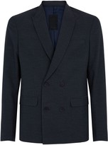New Look Double Breasted Slim Fit Suit Jacket