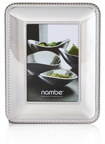 Nambe Braid Chrome Picture Frame