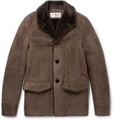 Saint Laurent Shearling Coat