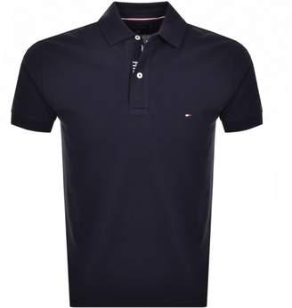 Tommy Hilfiger Regular Polo T Shirt Navy