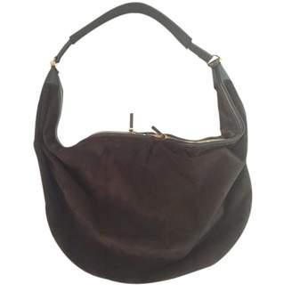 The Row Khaki Suede Handbags