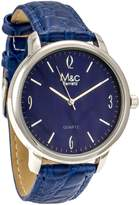 MC M&c Ferreti Men's | Croc Strap Indigo Dial Watch | FT14601