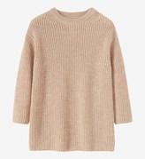 Toast Fisherman Rib Wool Sweater