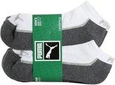 Puma Men's Low Cut LifeStyle Socks - 6 Identical Pairs