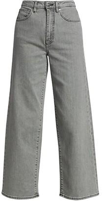Totême Flair High-Rise Wide-Leg Jeans