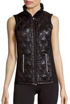 Nanette Lepore Sway Sleeveless Quilted Vest