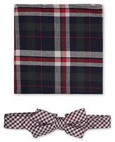 Jeff Banks Brit Bow Tie & Pocket Sq