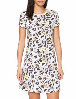 Skiny Women's Damen Nachthemd Kurz Earth Sleep Nightgown