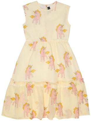 Mini Rodini Unicorns cotton dress