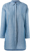 Woolrich denim shirt - women - Cotton/Linen/Flax - S