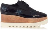 Stella McCartney Elyse lace-up platform shoes