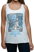 Star Wars Juniors' La Guerra Galaxias Graphic Racerback Tank Top