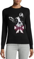 Ted Baker Henie Merry Woofmas Sweater, Black