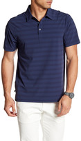 Travis Mathew Donegan Mixed Stripe Polo