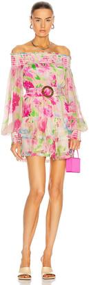 Rococo Sand Alora Mini Dress in Multi | FWRD