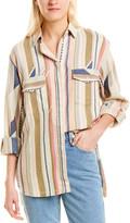 IRO Milene Silk-Blend Shirt