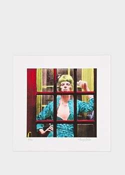 'Ziggy Phone Box' David Bowie Print - Terry Pastor