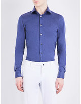 Richard James Contemporary-fit Cotton Shirt
