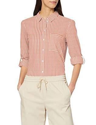 Tom Tailor Women's Lockere Streifenbluse Blouse