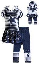 Dollie & Me Girls 4-14 Hooded Star Tunic & Leggings Set