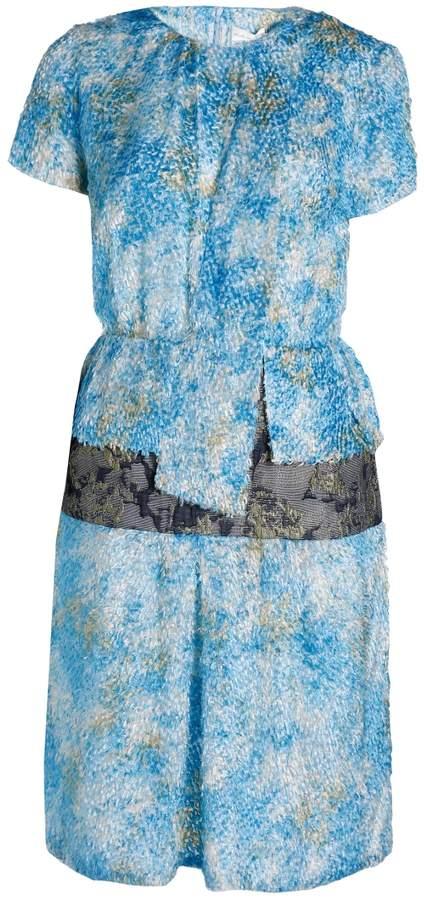 Michael Van Der Ham Short Sleeve Dress
