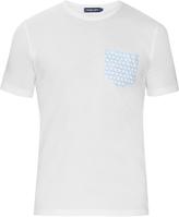 FRESCOBOL CARIOCA Patch-pocket cotton-jersey T-shirt
