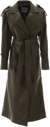 ATTICO Leather Trench Coat