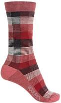 Woolrich Buffalo Check Socks - Merino Wool, Crew (For Women)