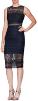 Nicholas Braided Lace Sheath Dress