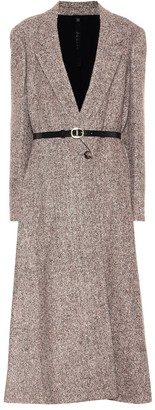 Petar Petrov Maeve belted wool and silk-blend coat