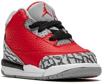 Jordan 3 Retro unite/red cement