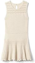 Gap Crochet drop-waist dress