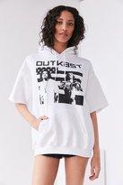 Urban Outfitters Outkast Short-Sleeve Hoodie Sweatshirt