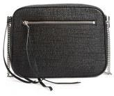 AllSaints 'Fleur De Lis' Crossbody Bag - Black